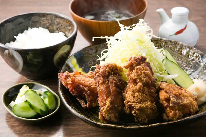 竜田揚定食
